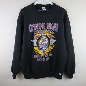 Vintage Colorado Avalanche Opening Night 1996 Crew